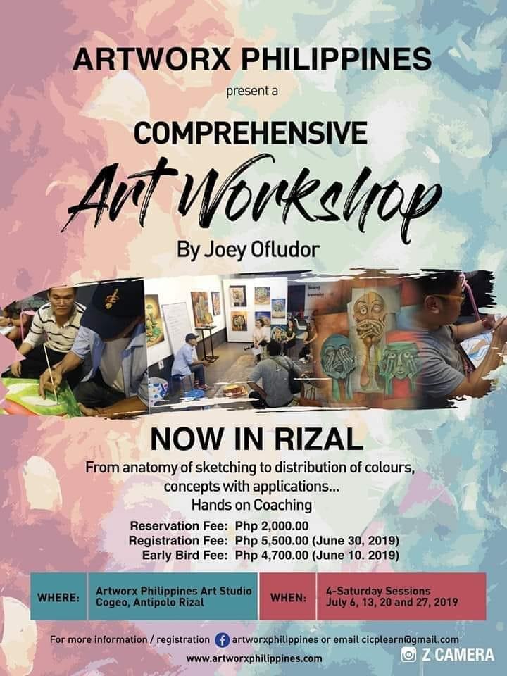 Art Workshop Rizal July 2019